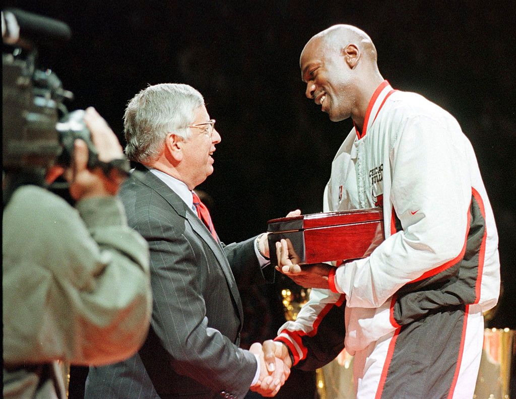 Michael Jordan was a star NBA player and David Stern the commissioner, but they shared one common trait that made them great in their own way.