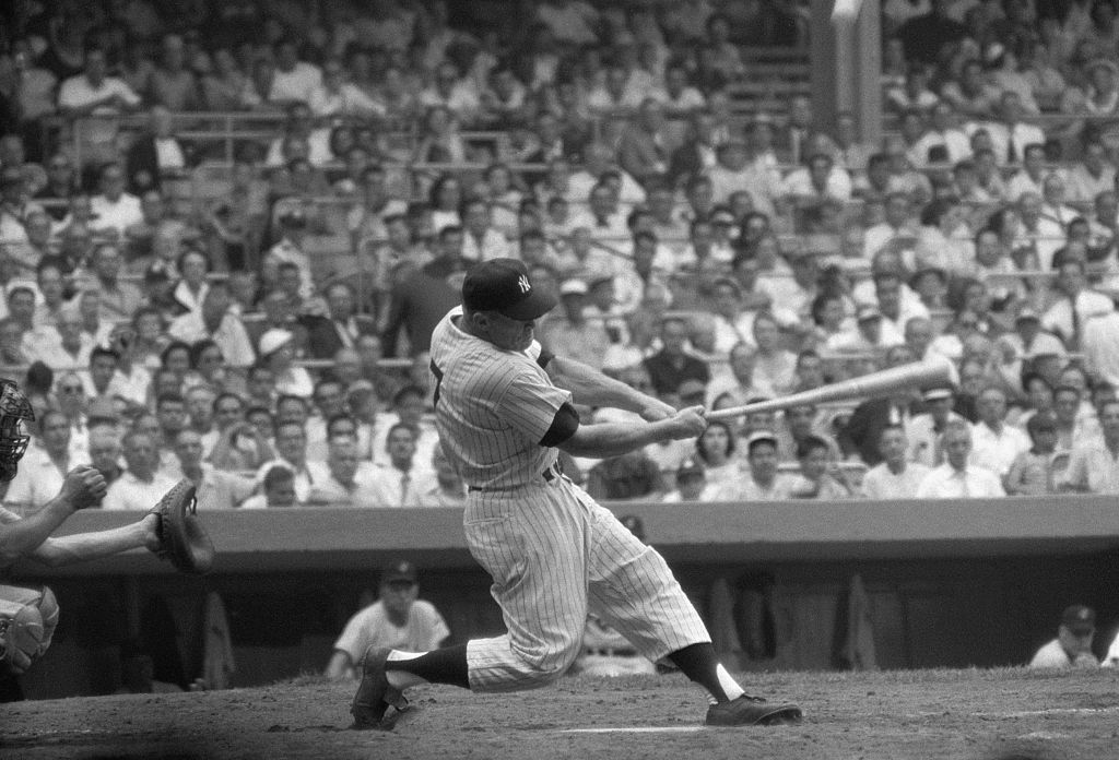 Mikey Mantle shone with the New York Yankees, but life wasn't always easy for the outfielder.