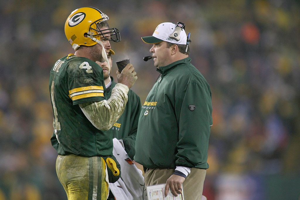 After working together in Green Bay, Brett Favre believes Mike McCarthy is a talented head coaching candidate.