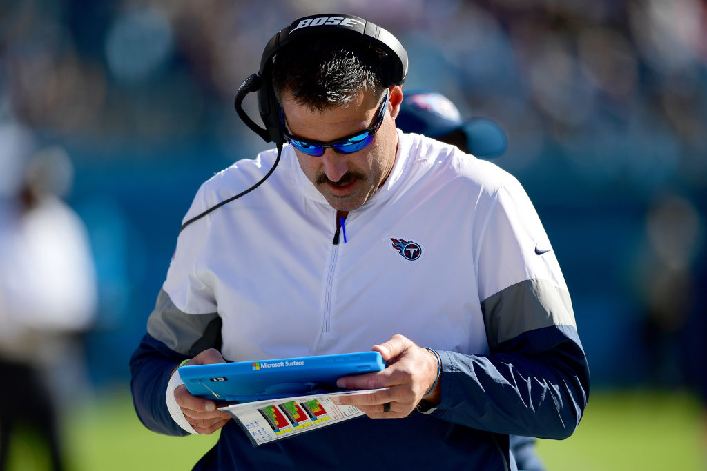 Tennessee Titans head coach Mike Vrabel will be cooking up a game plan to slow down Lamar Jackson and the Baltimore Ravens.