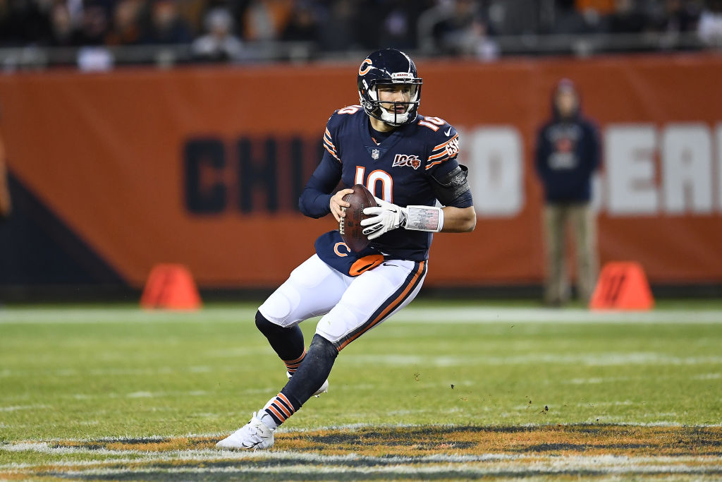 The Chicago Bears are sticking with quarterback Mitchell Trubisky despite his poor 2019.