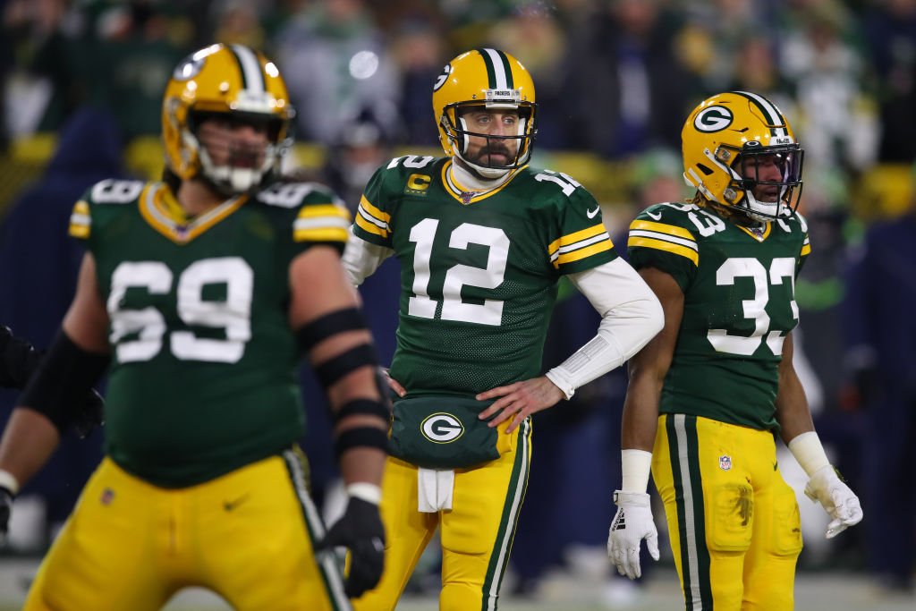 「touchdown aaron rodgers」の画像検索結果