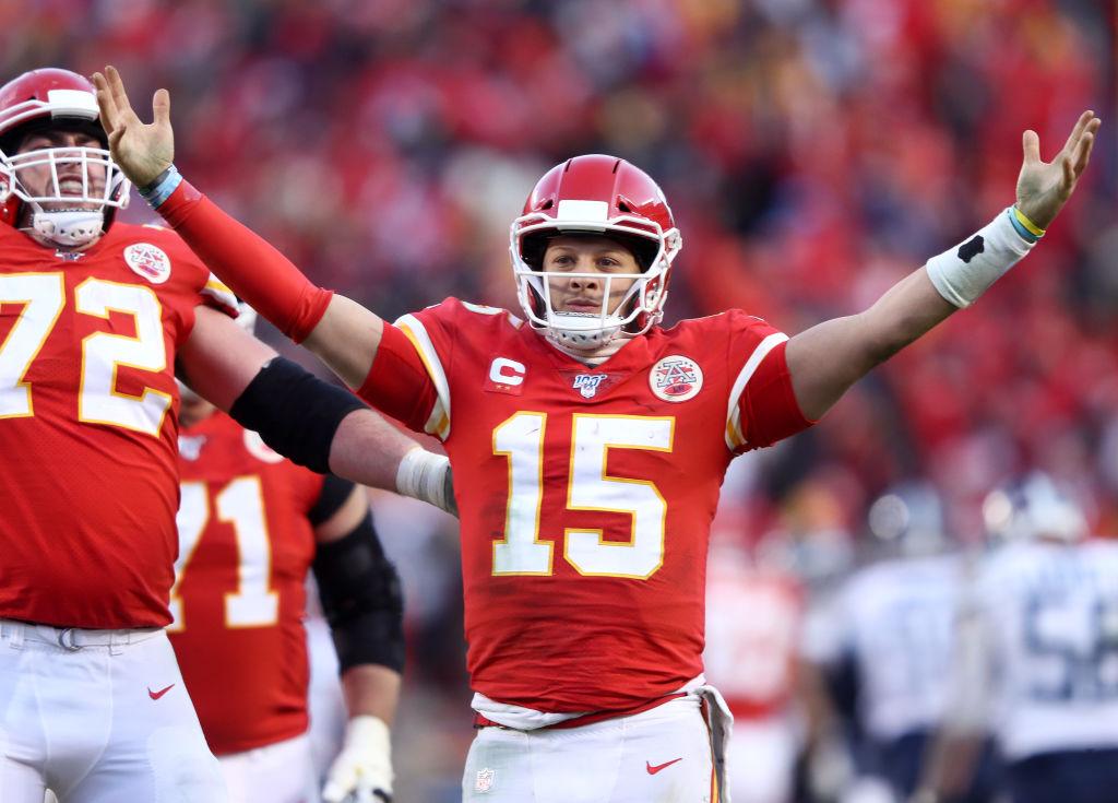 Chiefs quarterback Patrick Mahomes.