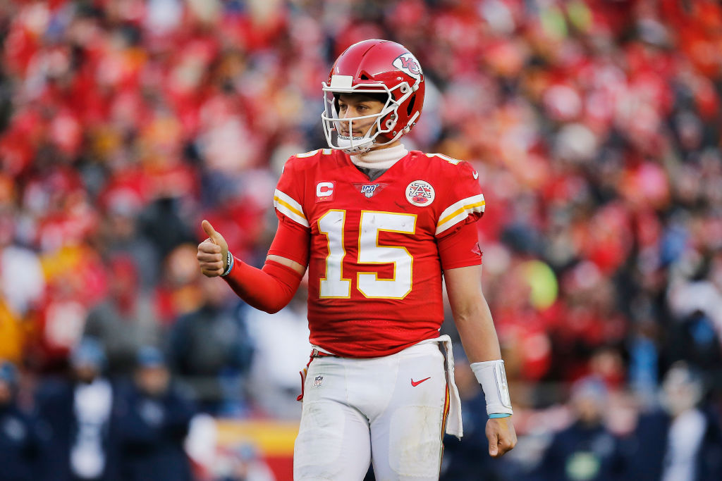 Quarterback Patrick Mahomes rebounded from a scary injury to lead the Kansas City Chiefs to a Super Bowl.