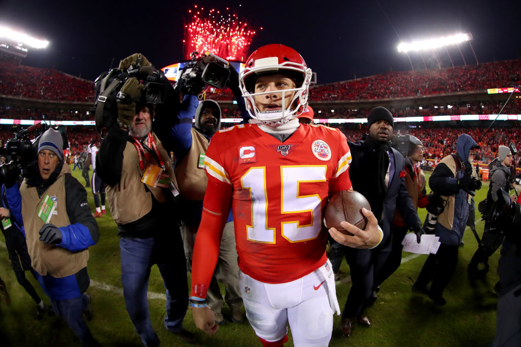 Patrick Mahomes might Troy Aikman eat his word from earlier this season.