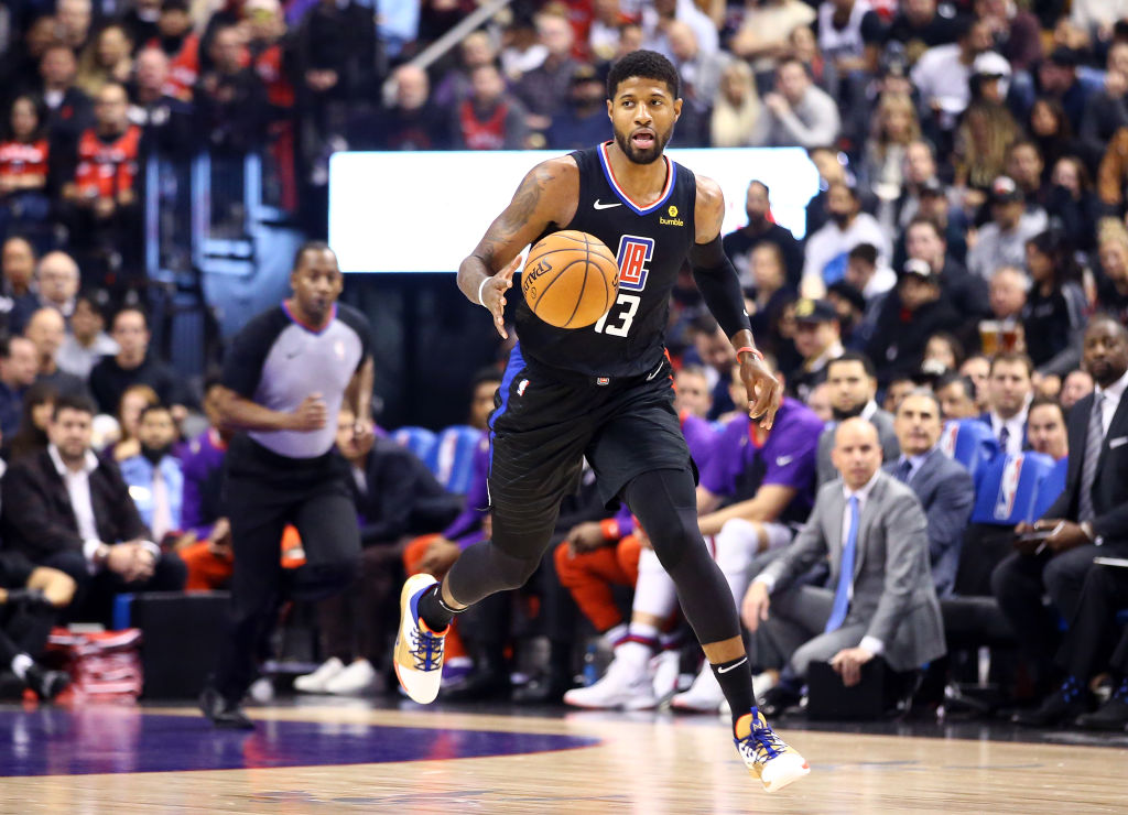 Paul George joined a contender when he came to the Los Angeles Clippers, but winning isn't the only reason he wanted to play in L.A.