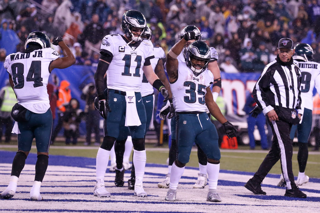 The Philadelphia Eagles are underdogs for their Wild Card Weekend game against the Seattle Seahawks.