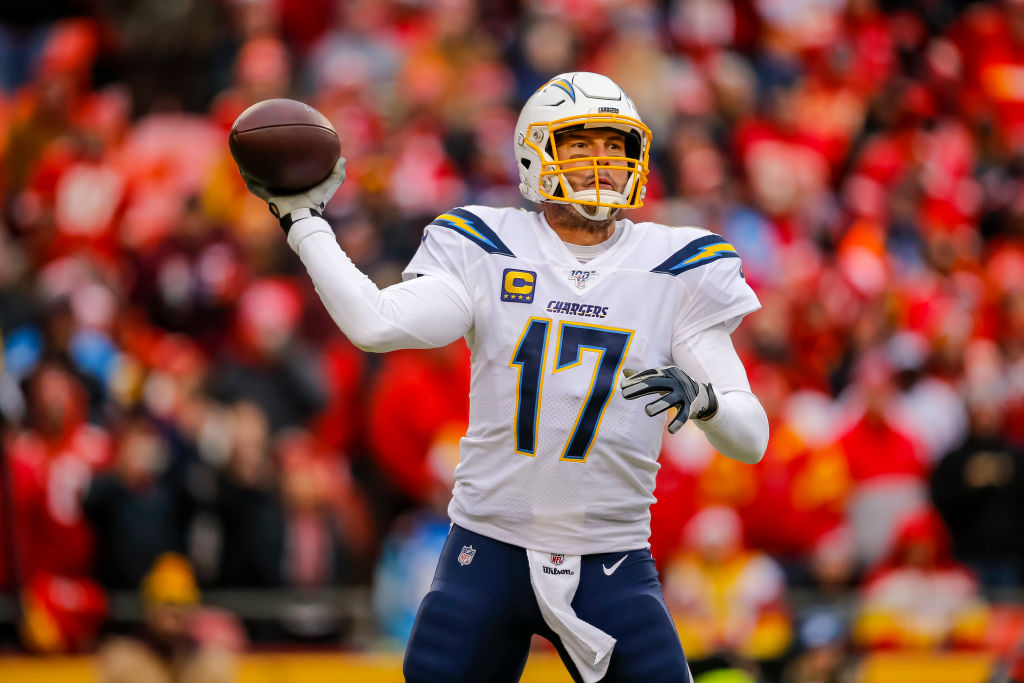 The Los Angeles Chargers are reportedly ready to move on from quarterback Philip Rivers.