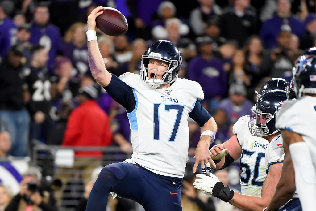 Ryan Tannehill and his Tennessee Titans are within touching distance of the Super Bowl.