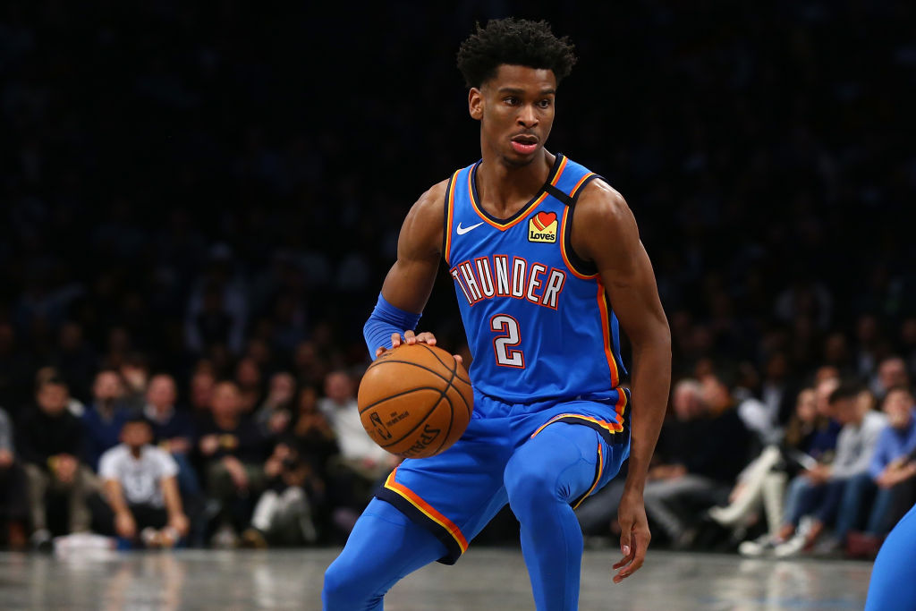 Shai Gilgeous-Alexander made NBA history Monday night with an impressive triple-double.