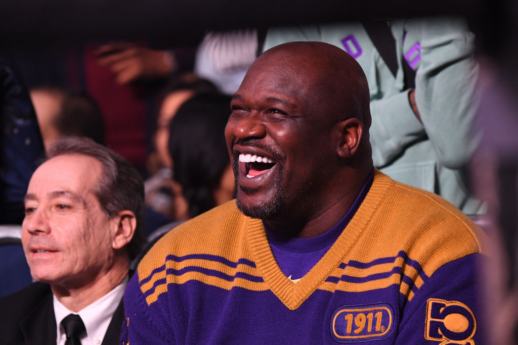 Shaquille O'Neal attends 2019 World Lightweight & World Light Heavy Weight Championships in 2019