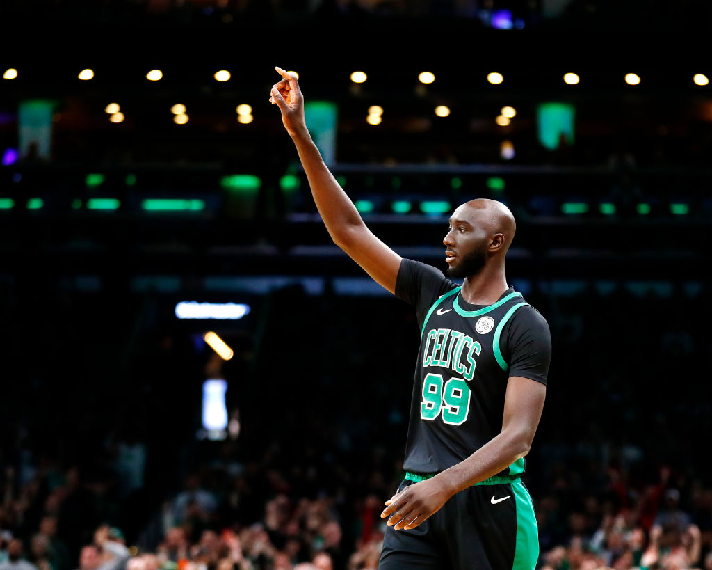 Celtics big man Tacko Fall just got his NBA call-up, and he's enjoying every bit of living large in Boston.