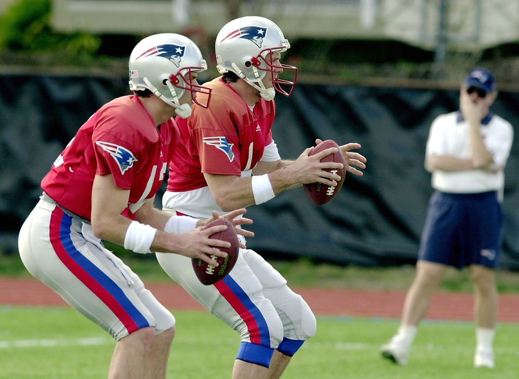 During their time with the New England Patriots, Drew Bledsoe wasn't impressed by Tom Brady's talent.