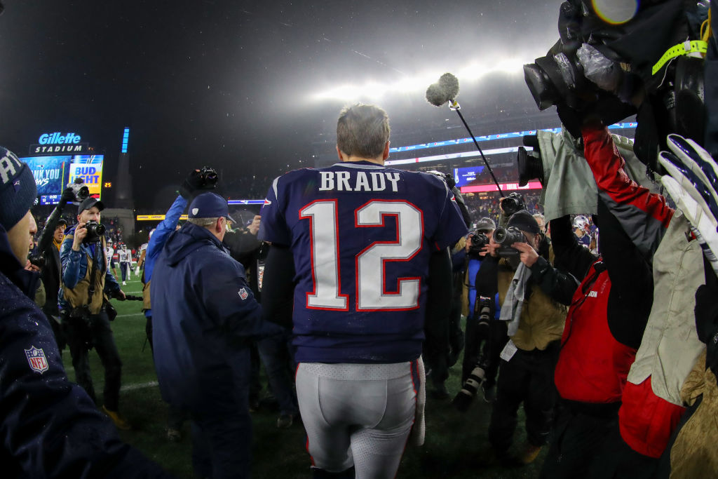 After losing to the Tennessee Titans on Wild Card Weekend, Tom Brady's future with the New England Patriots is uncertain.