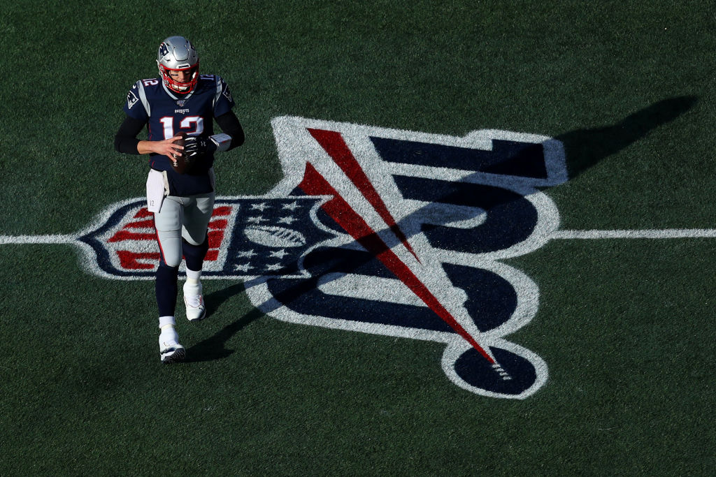 The Patriots' Tom Brady had a very braggy-sounding humblebrag when he made the NFL 100 team as one of the top quarterbacks of all time.