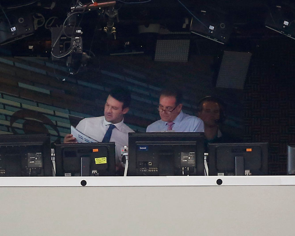 Tony Romo has become a star in the NFL broadcast booth.