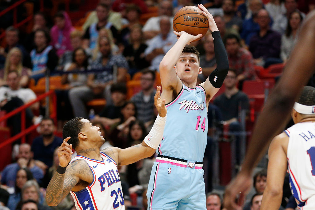 Miami Heat rookie Tyler Herro is a rising NBA star, but he sure doesn't eat like one.