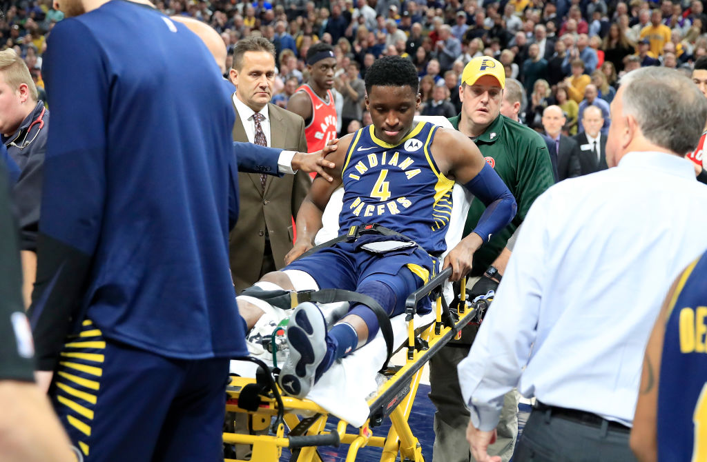 Victory Oladipo sat out most of 2019, but the Pacers' star is eyeing a return to the court as soon as possible.