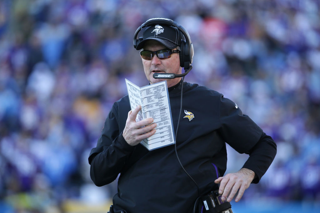 Minnesota Vikings coach Mike Zimmer is preparing his defense to face the San Francisco 49ers and George Kittle.