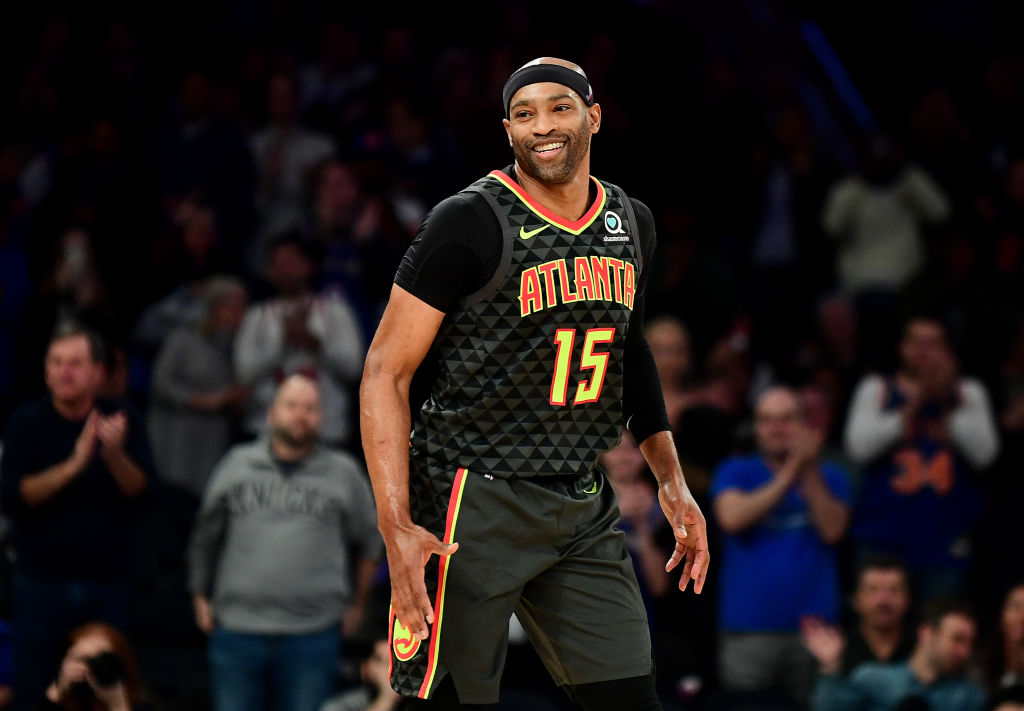 Hawks guard Vince Carter