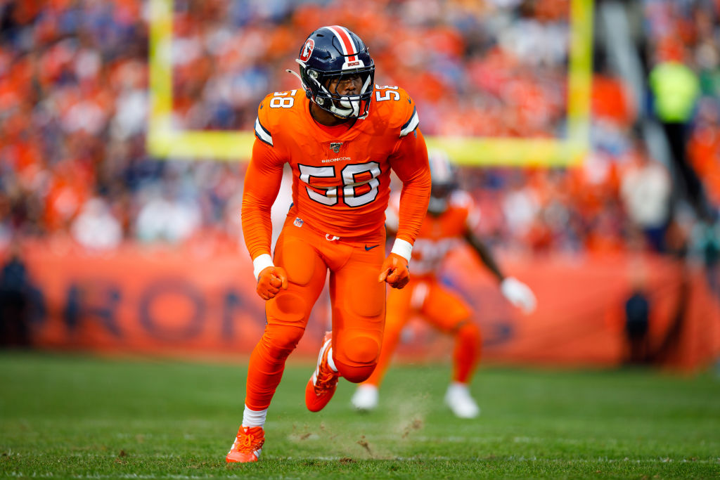 Von Miller is a standout for the Denver Broncos, but when will he be a free agent who is able to take his talents elsewhere?