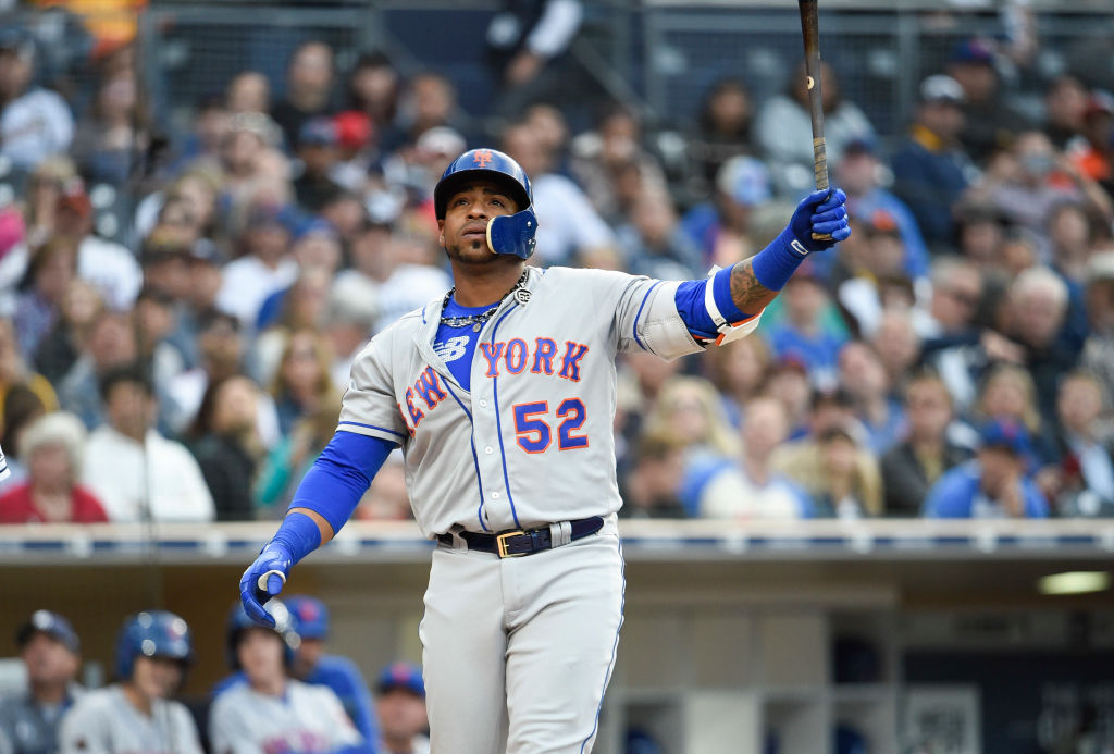 According to the New York Post, Yoenis Cespedes suffered his ankle injury in an incident with a wild boar.