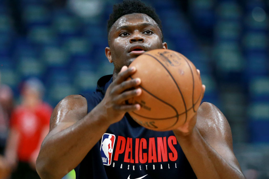 New Orleans Pelicans forward Zion Williamson is getting closer to full NBA action.