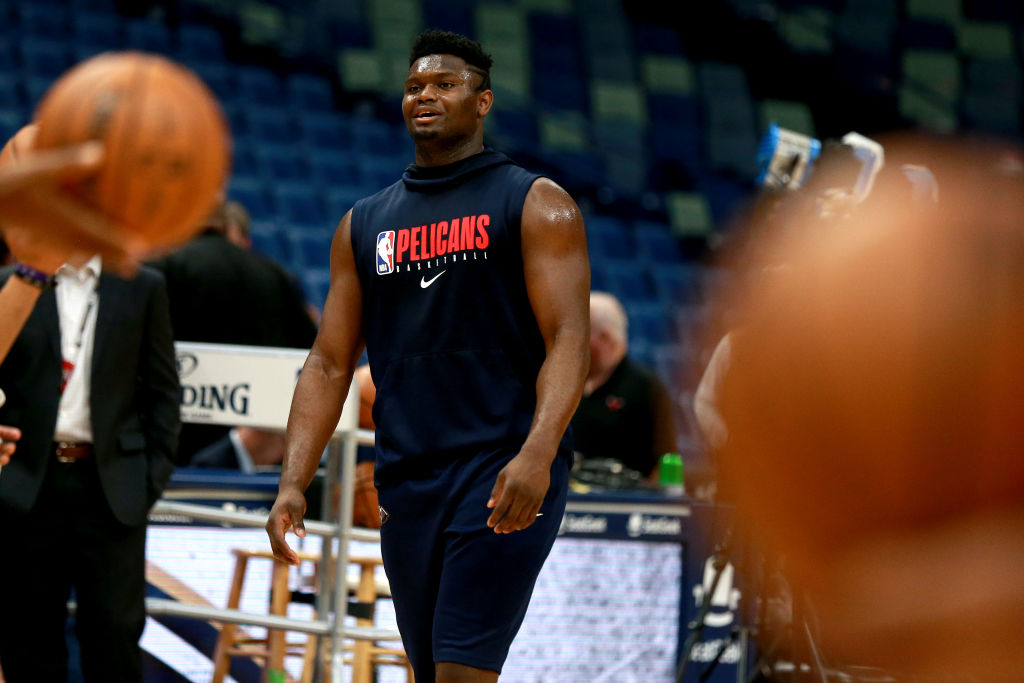 Ideally, Pelicans forward Zion Williamson should return to action in a matter of days.