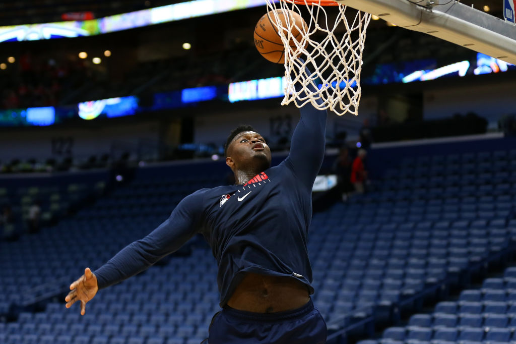 The New Orleans Pelicans hope to have Zion Williamson in action on Wednesday night.