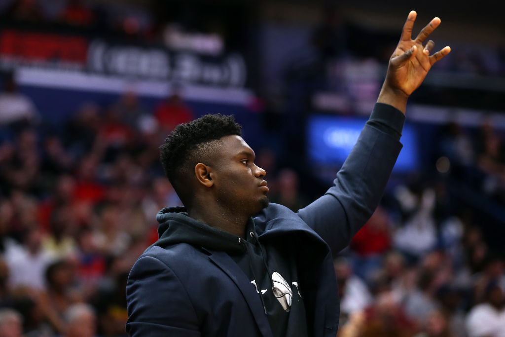 New Orleans Pelicans forward Zion Williamson is expected to make his NBA debut Wednesday night.