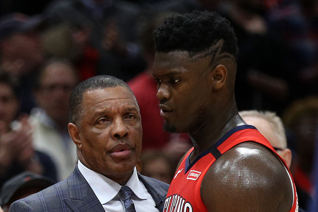 New Orleans Pelicans head coach Alvin Gentry gave Zion Williamson one key piece of advice.