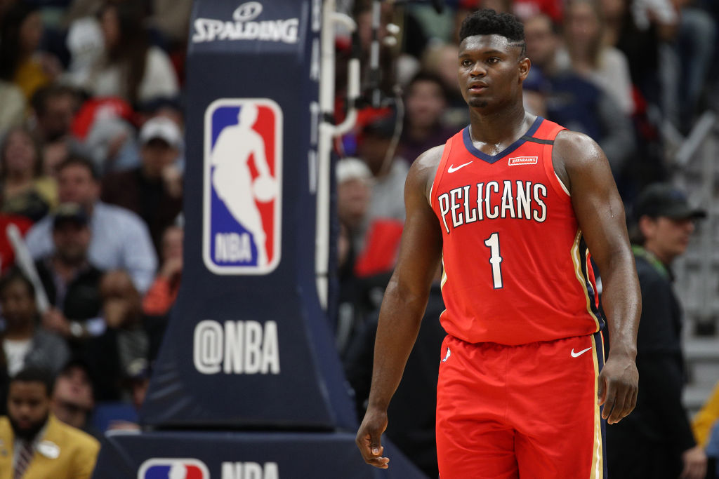 Pelicans forward Zion Williamson
