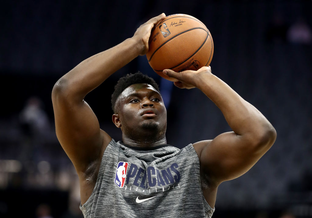 Zion Williamson's NBA debut took months to happen, and there might be one good reason for the extended delay.