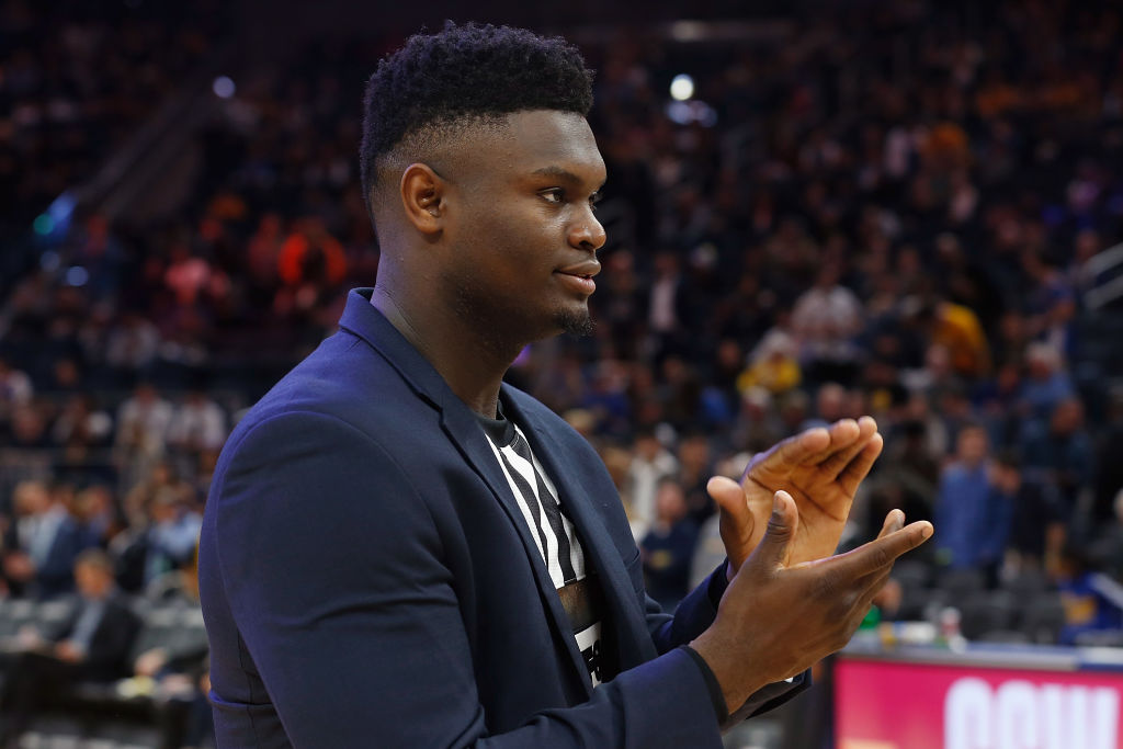 The New Orleans Pelicans reportedly believe Zion Williamson could be ready be the end of the month.