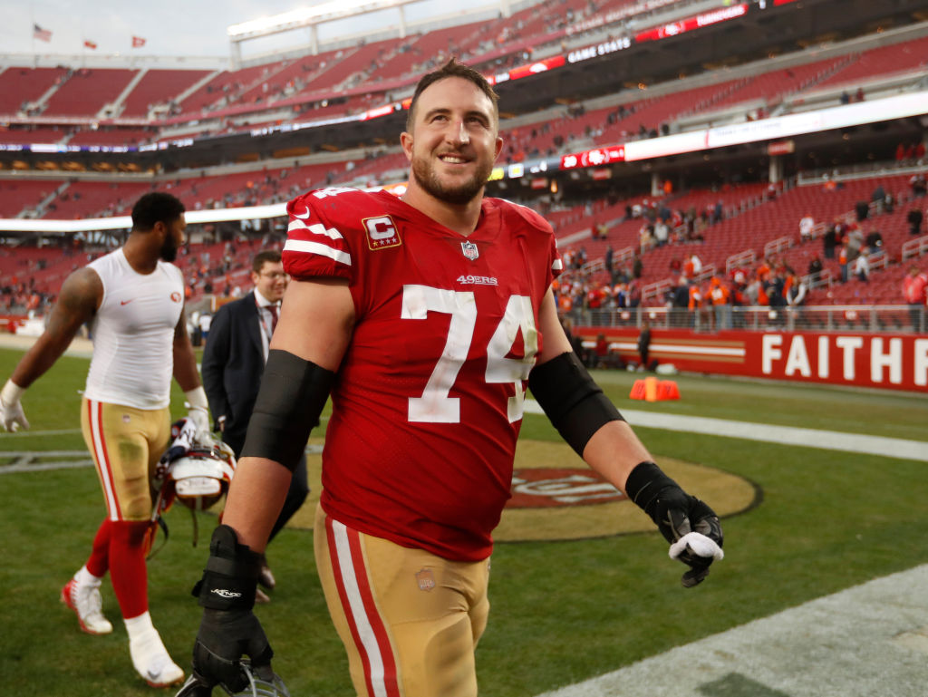 Joe Staley Travels Back in Time to Prepare His San Francisco 49ers Teammates