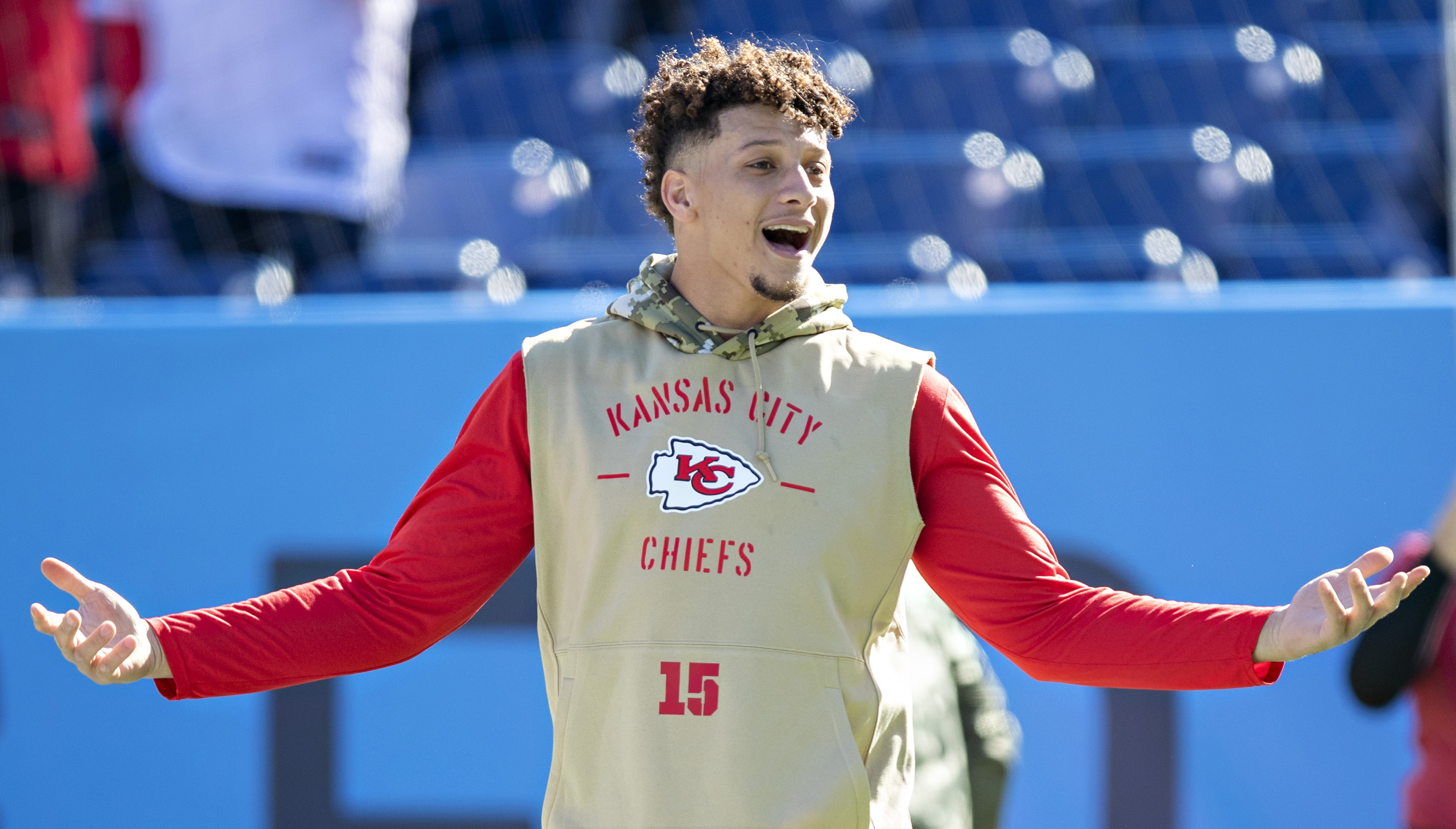 Patrick Mahomes is heading to his first Super Bowl.
