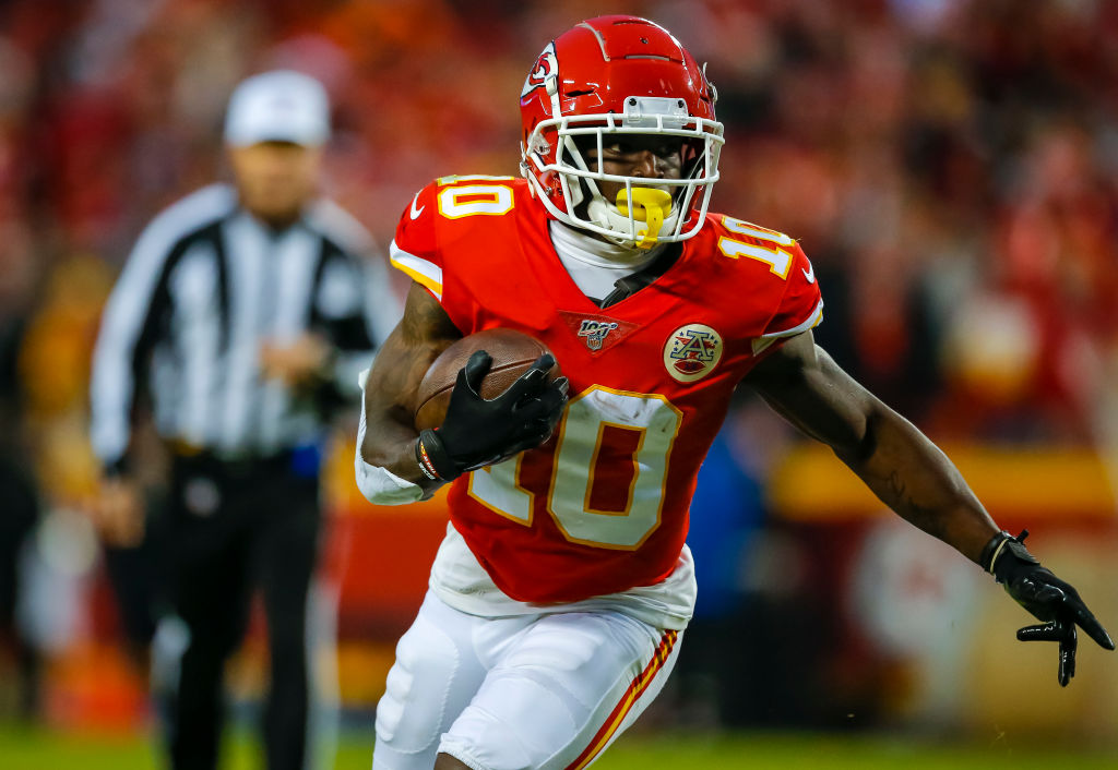 Is Tyreek Hill Good Enough to Win an Olympic Medal?