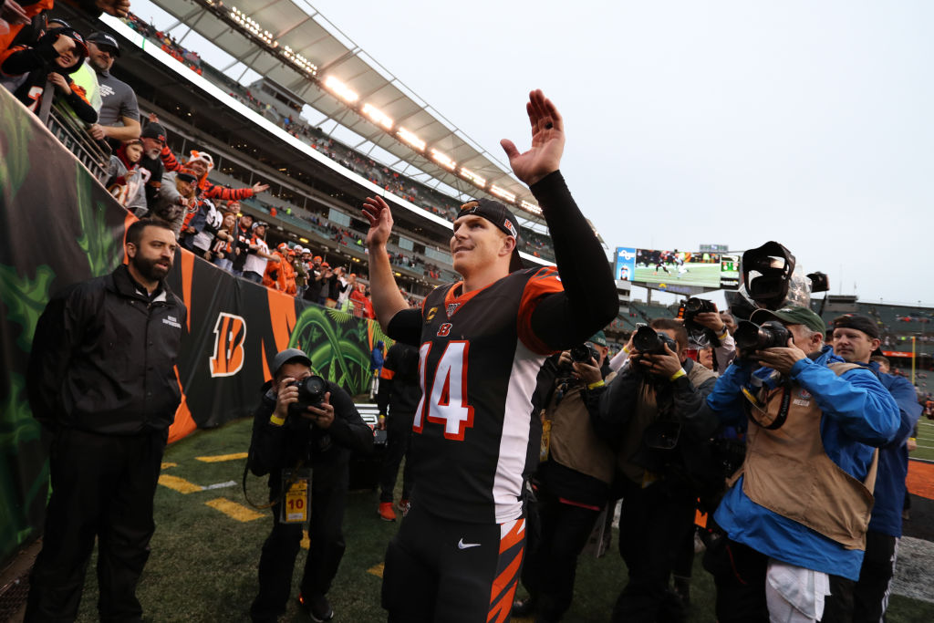 Andy Dalton has been a stalwart under center for the Bengals, but the QB might be on his way out of town this offseason.