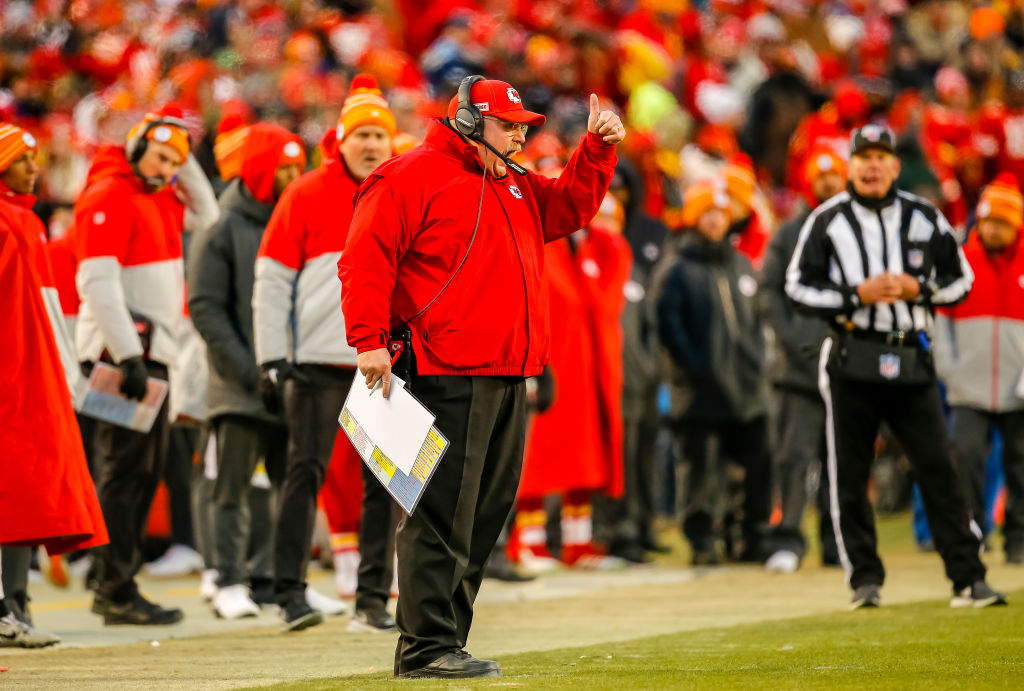 Andy Reid and the Kansas City Chiefs will have a shot at a Super Bowl title Sunday night.