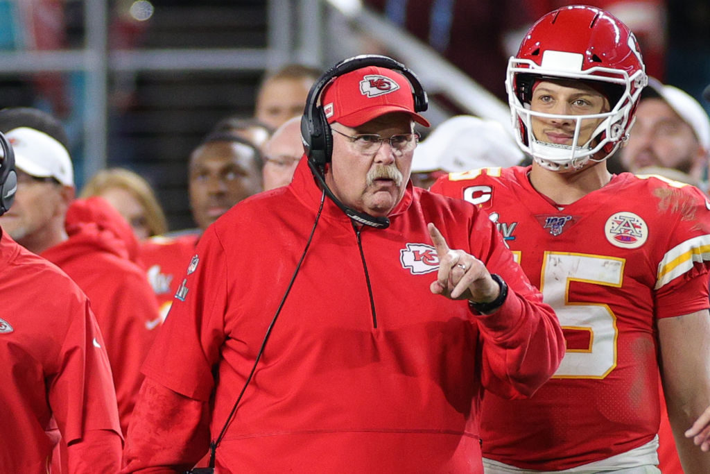 Kansas City Chiefs head coach Andy Reid won his first Super Bowl title on Sunday.