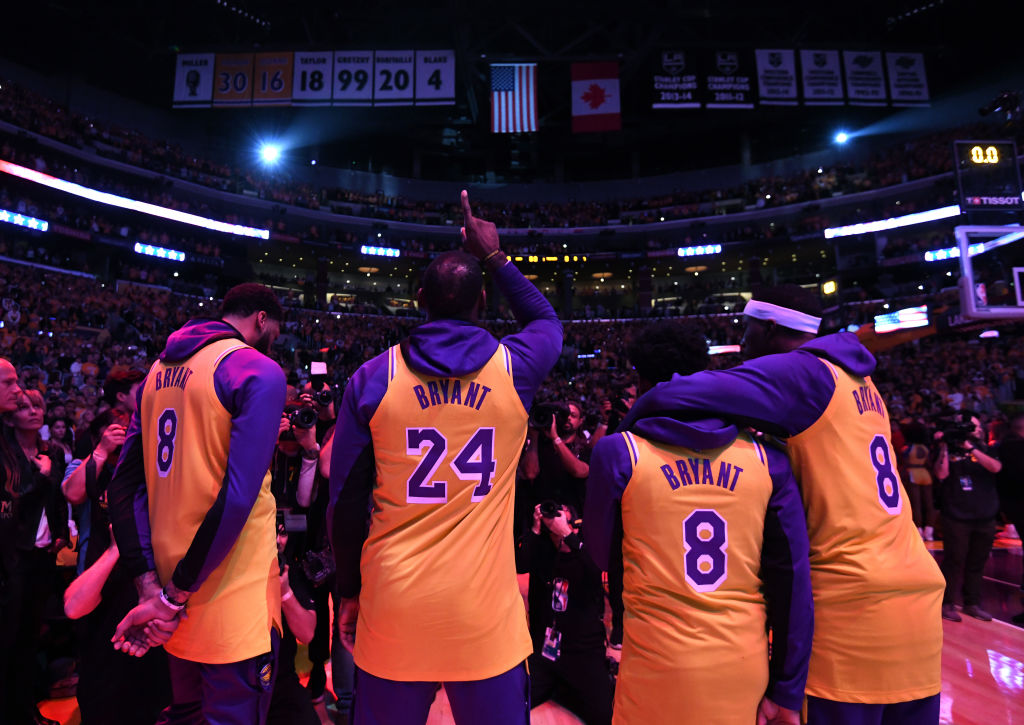 Anthony Davis, LeBron James, and the Los Angeles Lakers have paid tribute to the late Kobe Bryant.