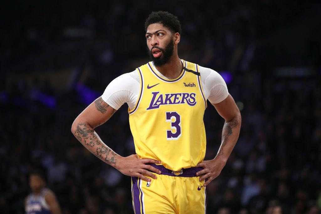 Lakers forward Anthony Davis