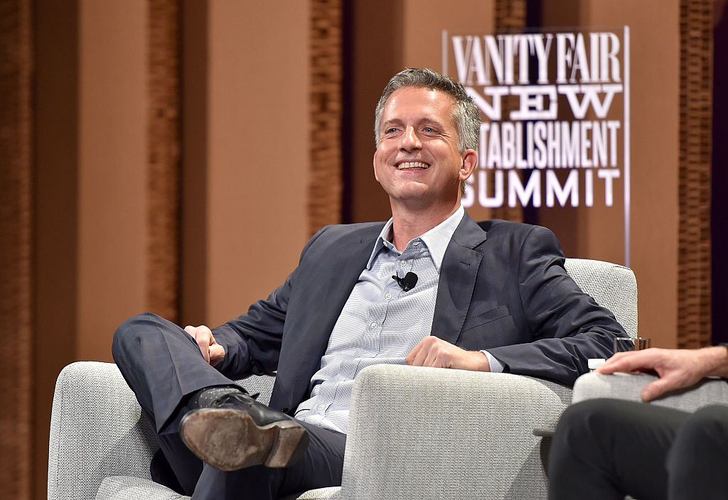 Bill Simmons smiling during an interview