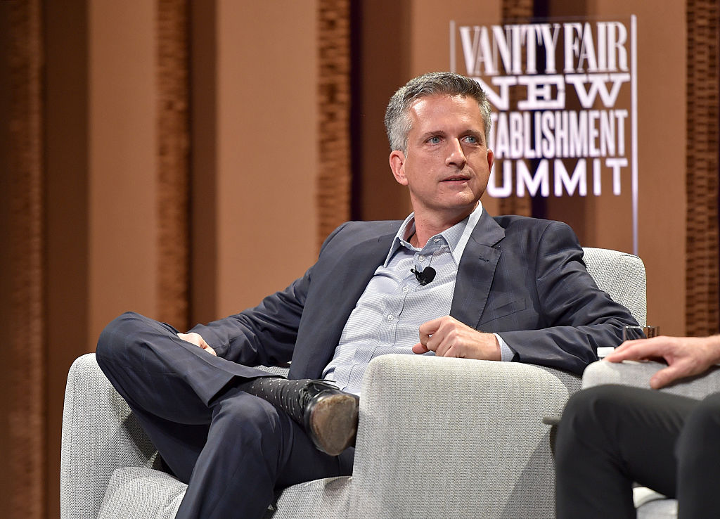 Bill Simmons sitting down for an interview