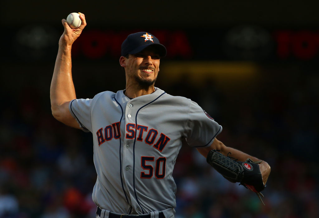 Charlie Morton was on the Houston Astros during their sign-stealing heyday.