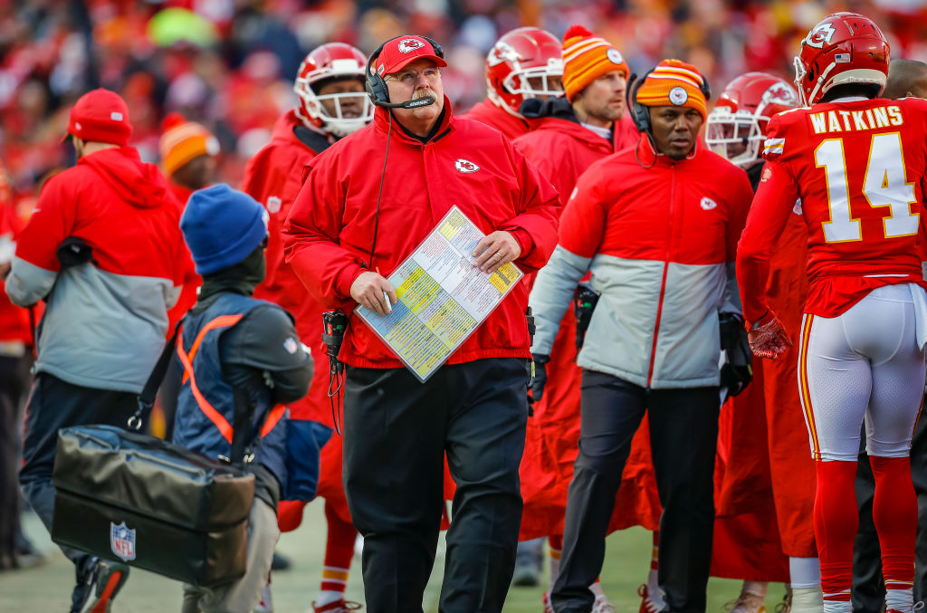 Chiefs head coach Andy Reid