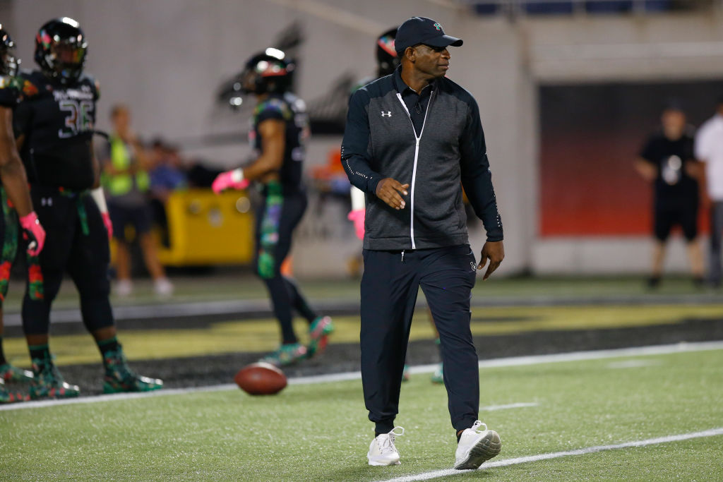 Deion Sanders wants to coach college football, so much so that he'd coach an old rival or in cold weather if that's what it takes to get a job.