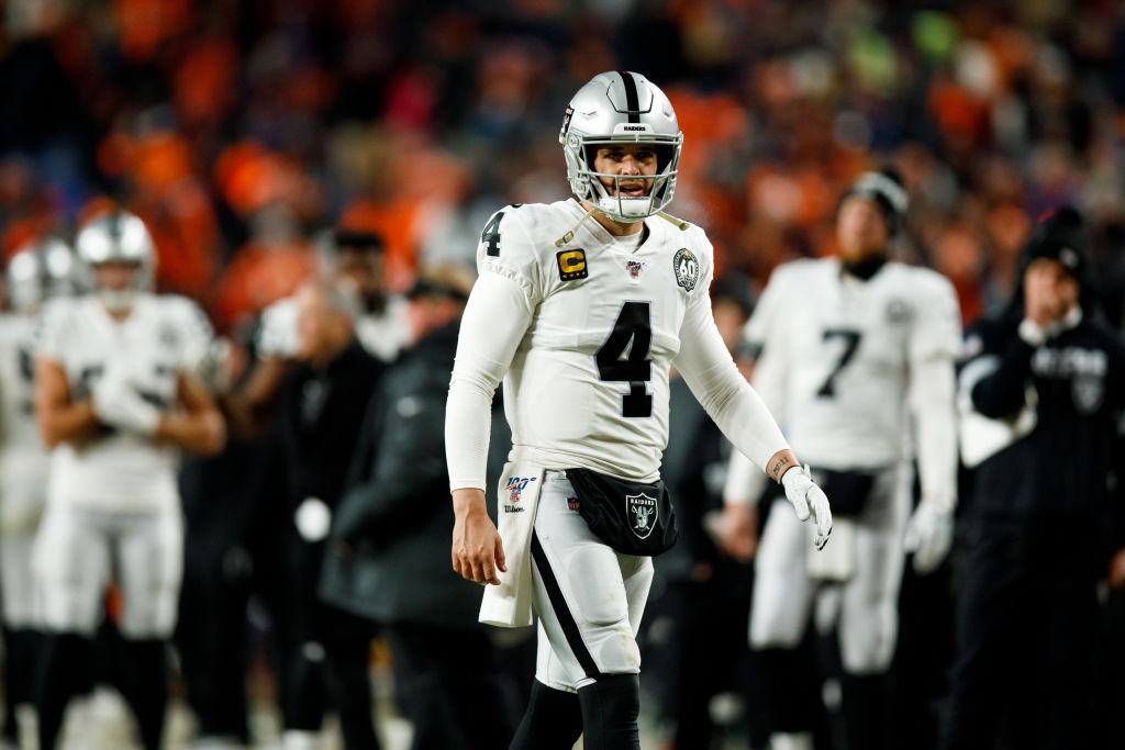 Will the Raiders trade quarterback Derek Carr to the Chicago Bears?
