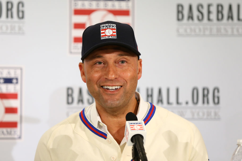 Derek Jeter received 396 out of 397 votes for election into the Baseball Hall of Fame.