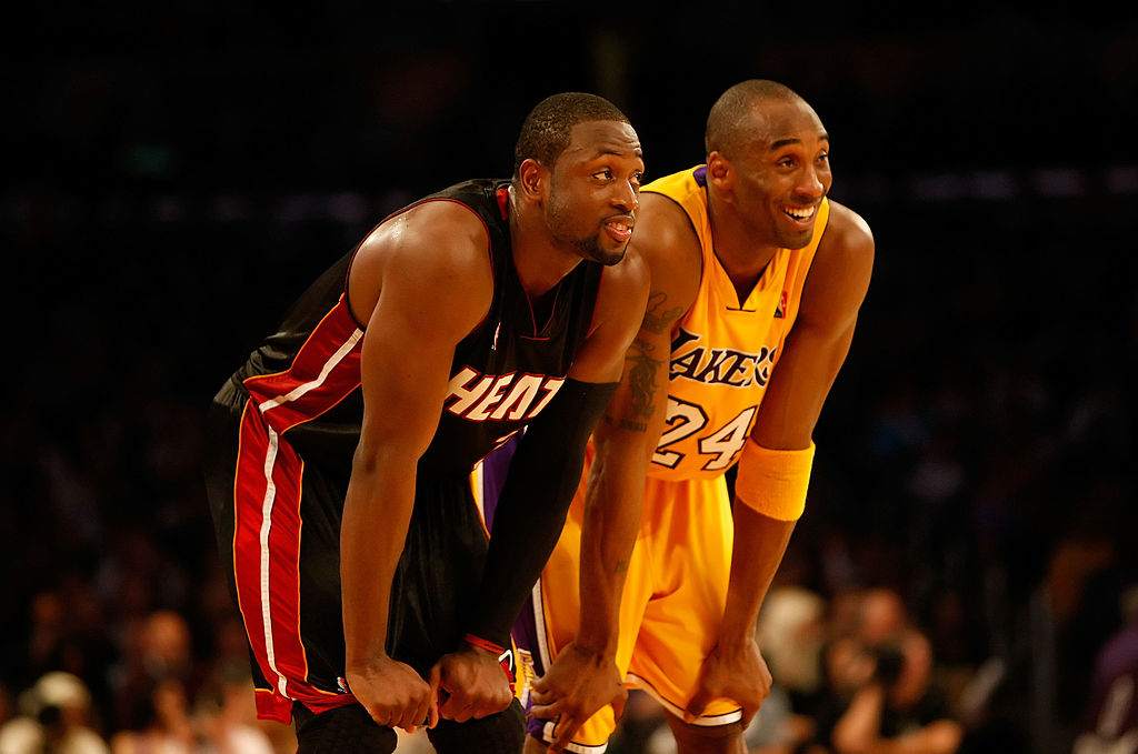 Dwyane Wade Kobe Bryant